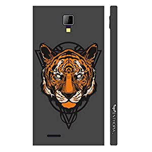 Micromax Canvas Express A99 Musky Tiger designer mobile hard shell case by Enthopia