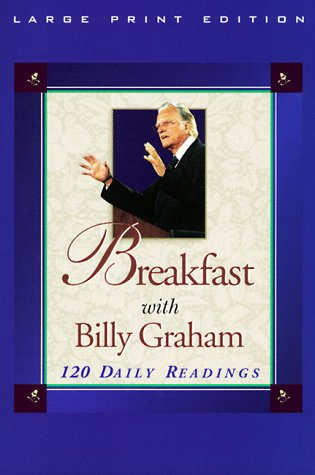 Breakfast with Billy Graham (Walker Large Print Books)