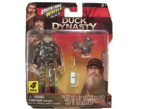 Adventure Wheels Duck Dynasty Figure Uncle Si - 1