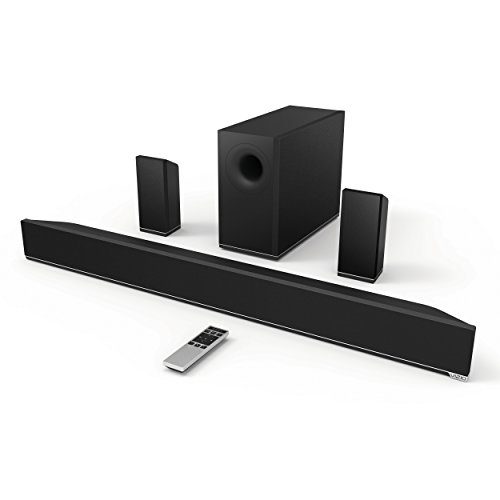 Vizio S3851W-D4 5.1 Channel Sound Bar (Black)