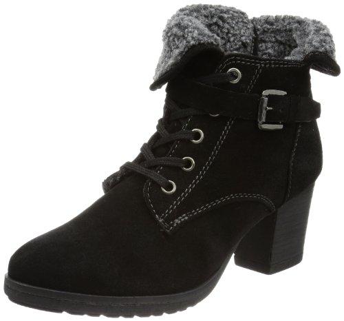 Tamaris TAMARIS Desert Boots Womens Black Schwarz (BLACK 001) Size: 8 (42 EU)