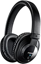 Philips SHB7150FB/00 Cuffia Wireless, PAD, NCF, MIC, BTH, Nero