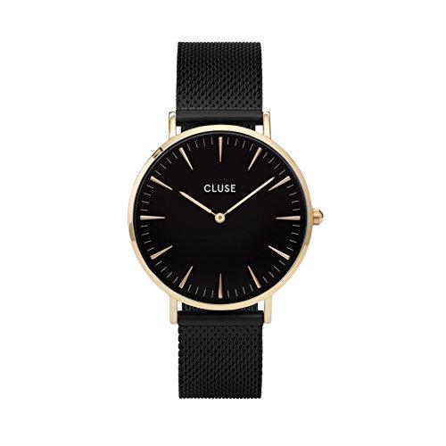 Cluse-Damen-Armbanduhr-Analog-Quarz-Edelstahl-CL18117