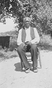 Willie Williams, ex-slave, Ft. Worth1937 July 3. Vintage Black & White Photog e5