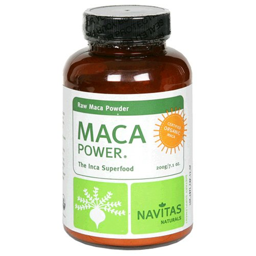 Navitas Naturals Organic Raw Maca Powder, 7.1-Ounce Jars (Pack Of 2)