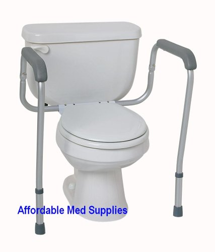Buy TOILET SAFETY FRAME/HAND RAILS ADJUSTABLE