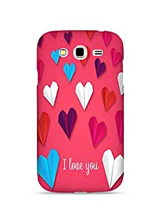 Bagsfull Designer Printed Matte Hard Back Cover Case For Samsung Galaxy Grand 2 7106 7102