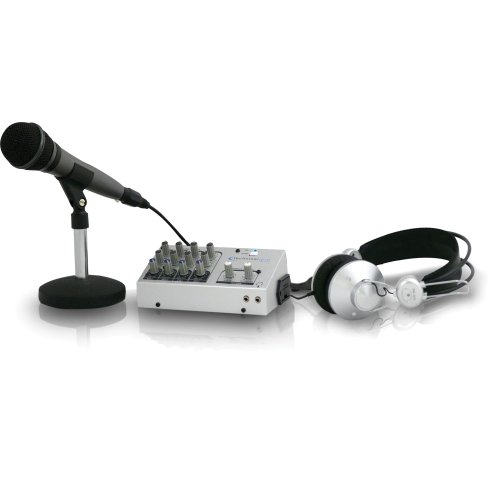 Technical Pro PM-21 Podcast System (Silver)