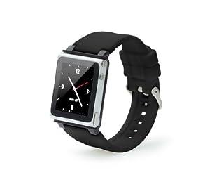 Q Collection - Bracelet pour iPod nano 6g (Black)