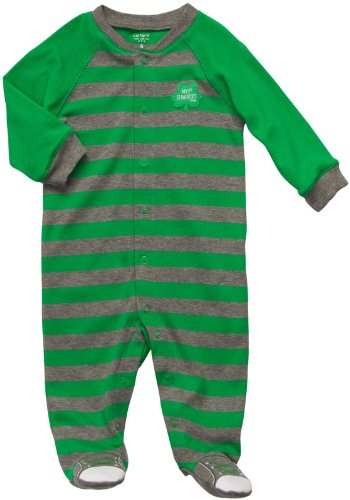 St Patricks Day Baby Outfit front-1050409