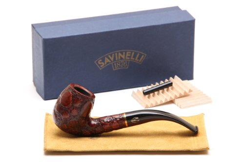 Savinelli Alligator Brown 602 Tobacco Pipe