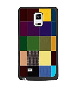 PrintDhaba Colored Blocks D-4394 Back Case Cover for SAMSUNG GALAXY NOTE EDGE (Multi-Coloured)