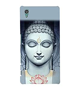 Buddha Wallpaper 3D Hard Polycarbonate Designer Back Case Cover for Sony Xperia Z5 :: Sony Xperia Z5 Dual (5.2 Inches)