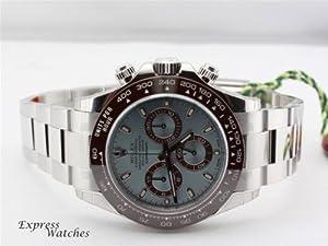 Rolex Oyster Perpetual Cosmograph Daytona Platinum 116506 Mens Watch