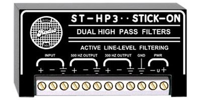 RDL ST-HP3 High Pass Line Level Audio Filter - Power Supply Included