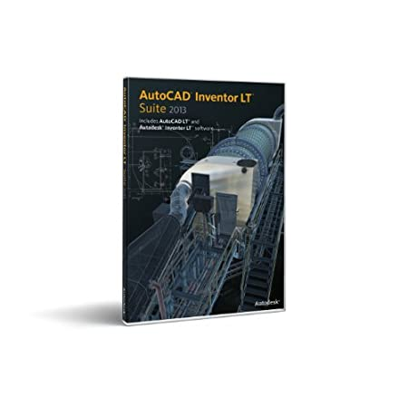 AutoCAD Inventor LT Suite 2013  -- Includes a 1 year Autodesk Subscription