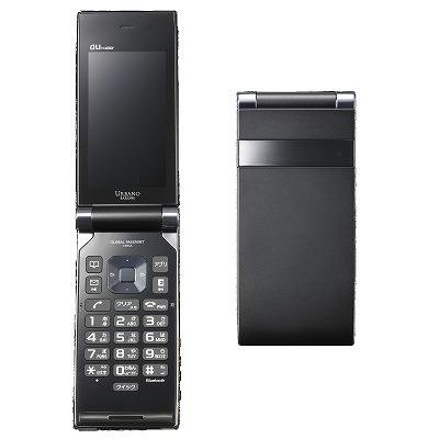 Sony Ericsson WIN URBANO BARONE[SOY03SKA] プレミアムブラック