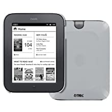 Clear Hard Case Cover For Barnes And Noble Nook Simple Touch / Noble Nook Simple Touch With GlowLight