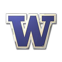 Buy NCAA Washington Huskies Die Cut Color Automobile Emblem by Team ProMark