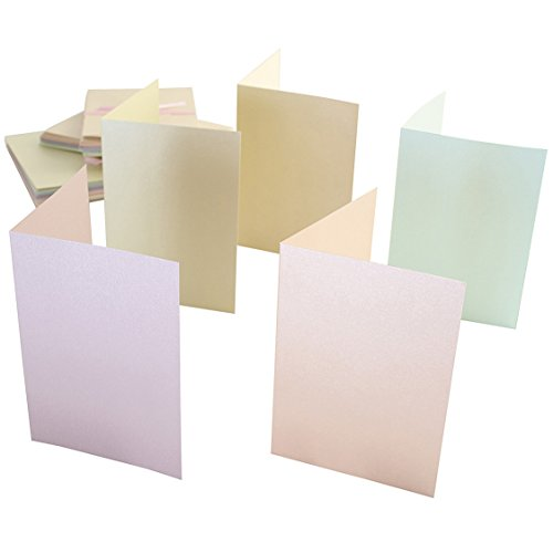 anitas-a6-card-and-envelope-pack-of-50-pastel-pearlescent