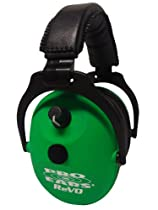 Pro Ears ReVO Electronic Ear Muffs, Neon Green