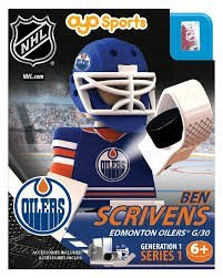Ben Scrivens OYO NHL Edmonton Oilers G1 Series 1 Mini Figure Limited Edition - 1