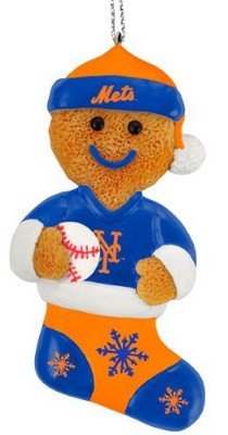 New York Mets Resin Gingerbread Man Ornament at Amazon.com