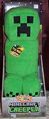 Jinx Minecraft Creeper Plush Figure With Sound 14 Licensed In Package