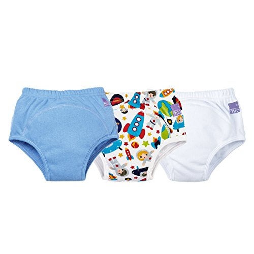 Bambino Mio Potty Training Pants Mixed Pack, Boys, 2-3 Years, 3 Count