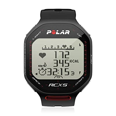 Polar RCX5 GPS Heart Rate Monitor and Sports Watch by Polar