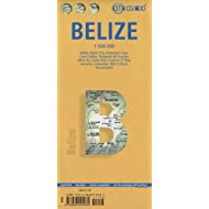 Belize: BB.030: Belize 1: 500 000, Belize City 1:13 000, Ambergris Caye & Caye Caulker 1: 250 000, Peninsula de...