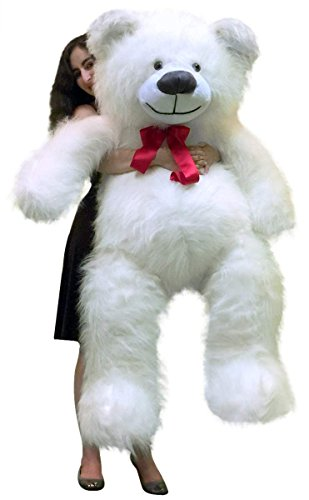 BigPlush-Giant-Teddy-Bear-White-60-Inches