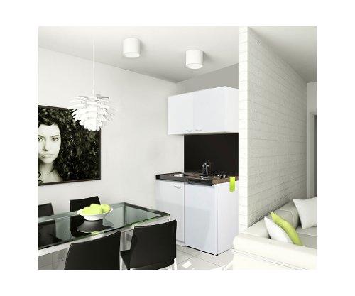 pantryk che mit kochplatten oberschrank und k hlschrank. Black Bedroom Furniture Sets. Home Design Ideas