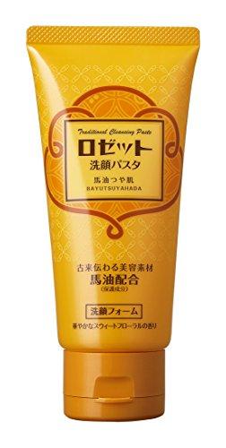 ロゼット 洗顔パスタ 馬油つや肌 120g