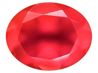 Indian Scarlet Chalcedony Average 2.25ct 10x8mm Oval
