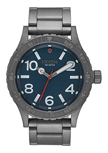 Nixon 46 A916-2340-00 - Reloj unisex en acero con acabado Gunmetal.