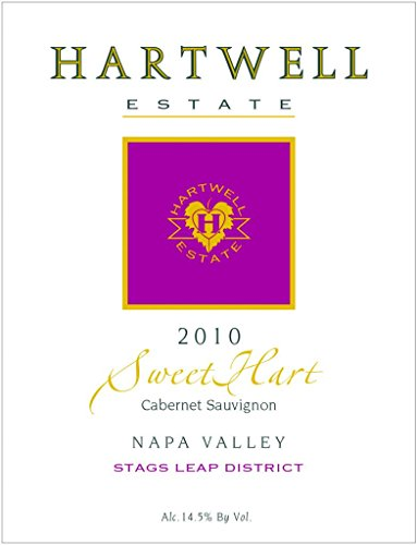 2010 Hartwell Estate Sweethart Stags Leap District Napa Valley Cabernet Sauvignon 375 Ml