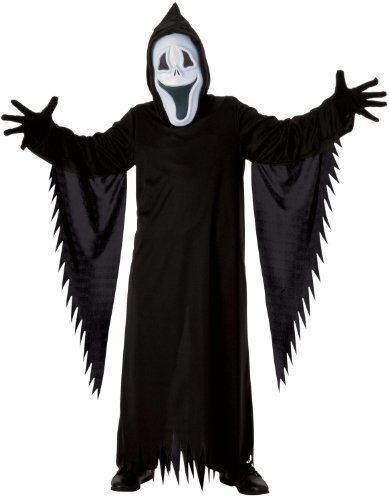 Rubie's Costume Co Boys Smiley The Ghost Scary Costume