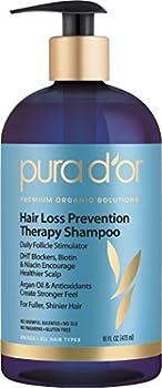 Pura dor Hair Loss Prevention Therapy 16 Ounce Shampoo
