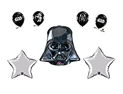 Star Wars Darth Vader Balloon Bouquet