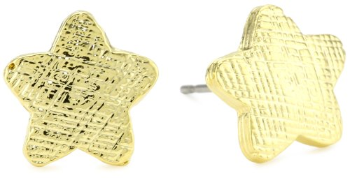 Tuleste Market Star Gold Stud Earrings