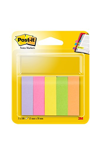 Post-it Index Markers confezione da 5 pezzi - 15 x 50mm