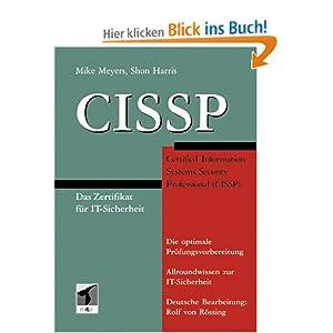 eBook Cover für  CISSP Das Zertifikat f uuml r IT Sicherheit