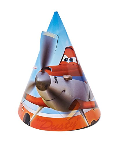 Planes Party Hat, 8 Count, Party Supplies