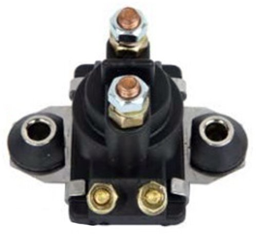 Mercury Marine Starter Solenoid Relay Switch 12 Volts 4 Terminals 20HP 25HP 40HP 45HP 50HP 55HP 60HP 65HP 70HP 80HP 90HP 89-818997A1 65W-81941-00-00 (Boat Motor 60 Hp compare prices)