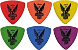 Clayton Delrin Large Triangle 60mm Packet of 12 Guitar Picks