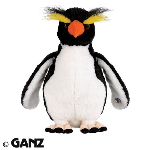 Webkinz Plush Stuffed Animal Rockhopper Penguin