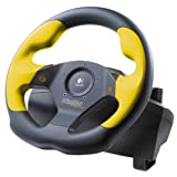 41EFK8TEKEL. SL160  Logitech Wingman Formula GP Rubber Wheel with Pedals Reviews
