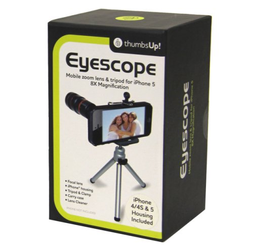 Thumbs Up Uk Eye Scope For Iphone 4/4S/5 - Retail Packaging - Black