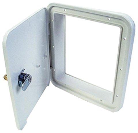 JR Products 21102-A Polar White Multi-Purpose Hatch (Rv Storage Door compare prices)